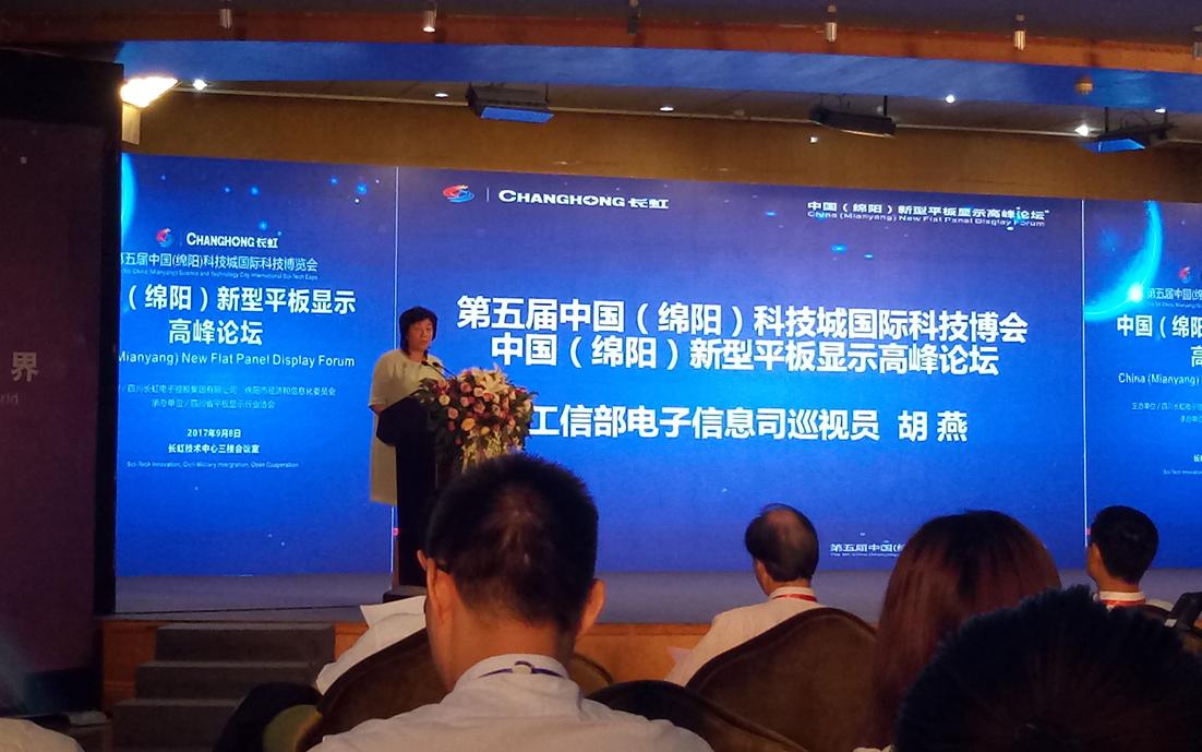中国(绵阳)平板显示高峰论坛